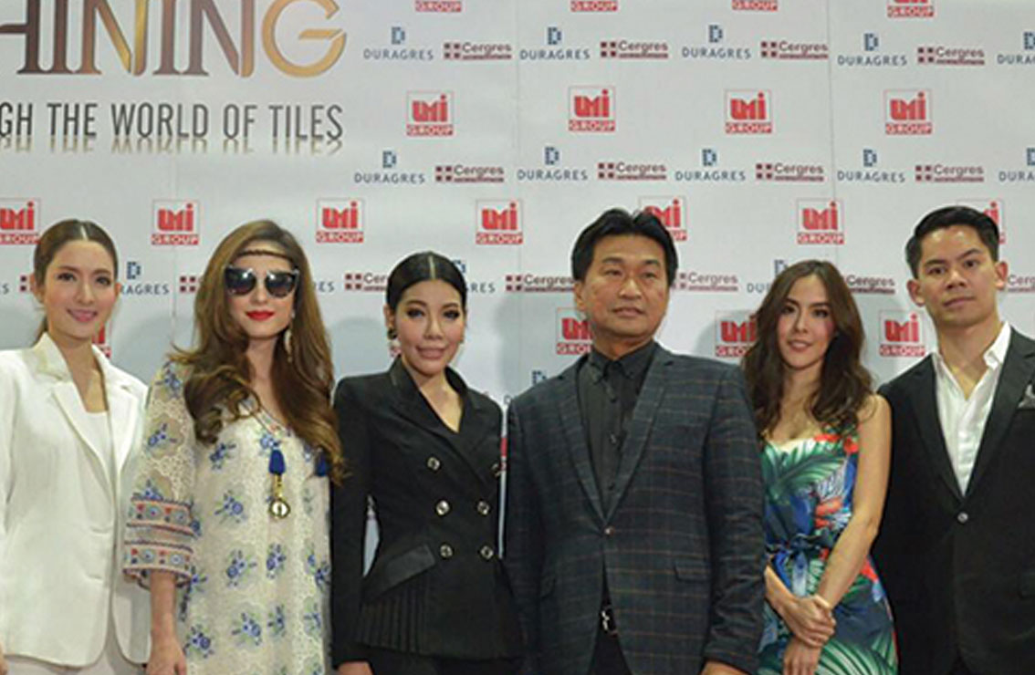 UMI Group บุกงานสถาปนิก'60 ขนนวัตกรรมกระเบื้อง พร้อมอัพเดตดีไซน์การตกแต่งบ้านด้วยแรงบันดาลใจต่างๆ ผ่านเหล่าดาราชั้นนำของเมืองไทย
